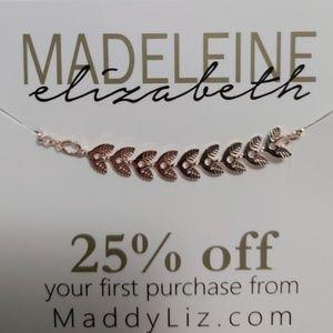 Madeline Elizabeth Fern Bracelet